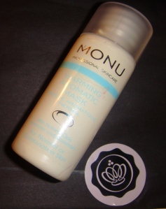Monu Aromatic Mask - 100ml - £24.95 A Lukewarm 3/5